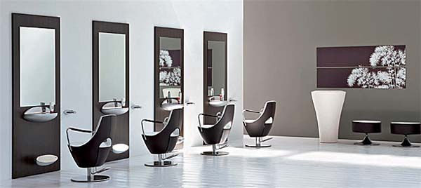 Mobiliario de peluqueria decoracion peluqueria muebles for Muebles de peluqueria
